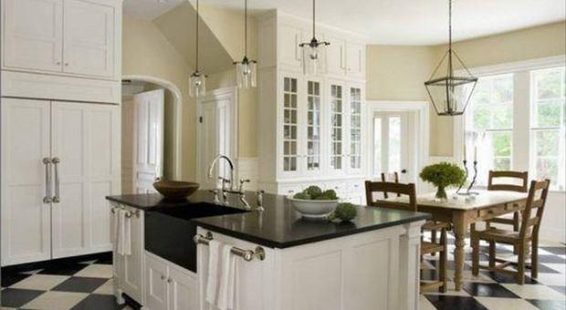 Voglia di contrasto: in cucina torna il bianco e nero