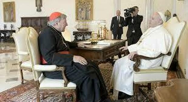 Udienza tra il Papa e il cardinale Pell due settimane fa