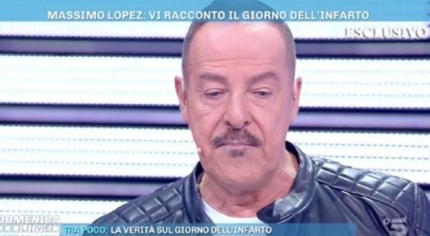 Domenica Live, Massimo Lopez si racconta: dal rapporto con la famiglia a quel tragico infarto