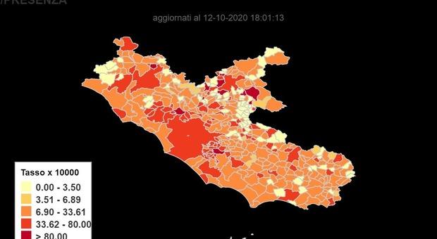 Covid, la provincia di Frosinone ancora maglia nera nel Lazio: oggi 144 casi. Contagi nella Comunità Dialogo, scatta l'indagine