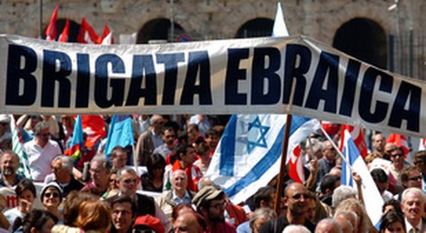 25 Aprile, Brigata ebraica non sfilerà con Anpi: «Mai a Roma con i palestinesi»