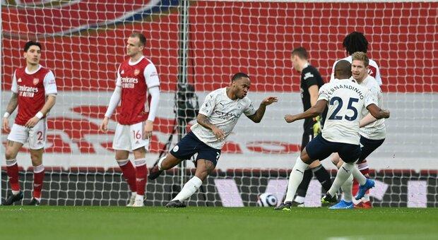 Il City batte anche l'Arsenal. Mou, altro ko: ora rischia. Il Lipsia riapre la Bundesliga. Barcellona, solo un pari col Cadice