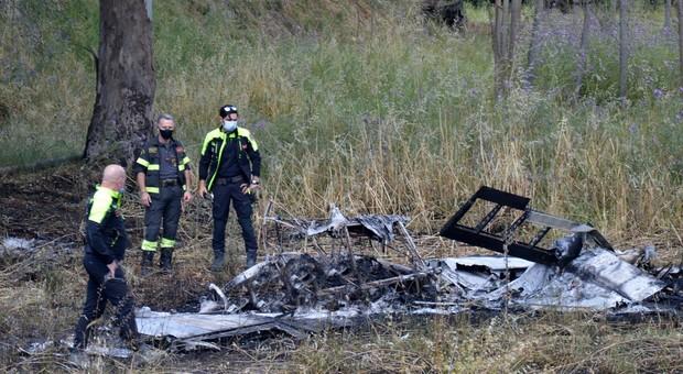 L'aereo caduto a Nettuno in cui sono morti due giovani