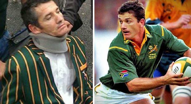 Rugby, la Sla porta via a 46 anni Joost Van der Westhuizen, lo Springbok che placcò Lomu davanti a Mandela