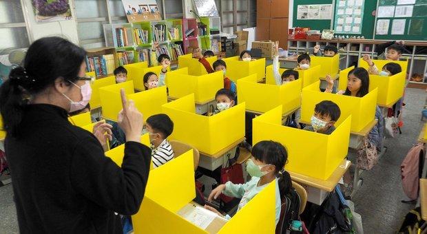 Come hanno risolto il problema virus a scuola in Cina