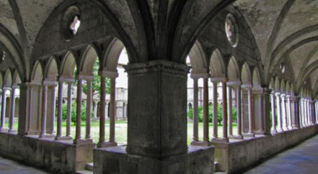 Rettorato di S.Maria in Gradi: chiostro medievale