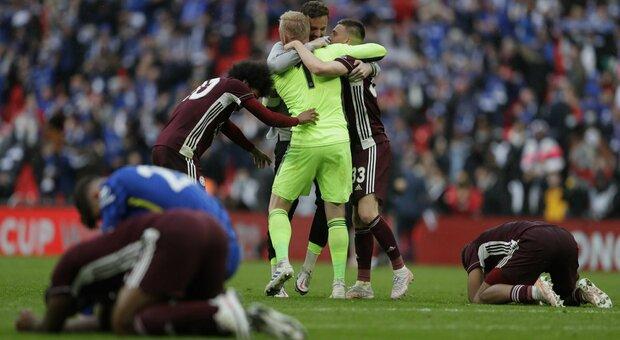 Il Leceister batte il Chelsea e si prende la Fa Cup davanti ai 21 mila di Wembley