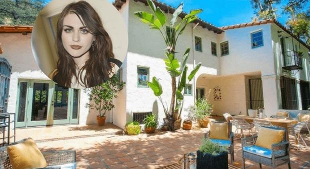 immagine La figlia di Kurt Cobain ha fiuto immobiliare: la sua villa a Hollywood vale due milioni e mezzo