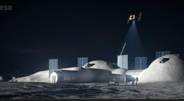 Satelliti italiani attorno alla Luna: missione Moonlight per orientare gli astronauti delle basi Video