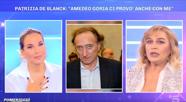 Pomeriggio 5, Lory Del Santo fa allusioni piccanti su Amedeo Goria. Barbara D'Urso: «Non voglio capire»