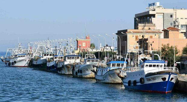 La flotta peschereccia di Fiumicino