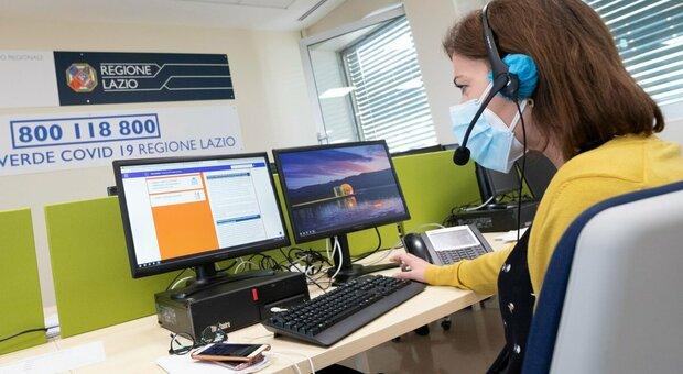 Malati Covid Lazio, nuova sede del numero verde per gestire e monitorare i pazienti a casa