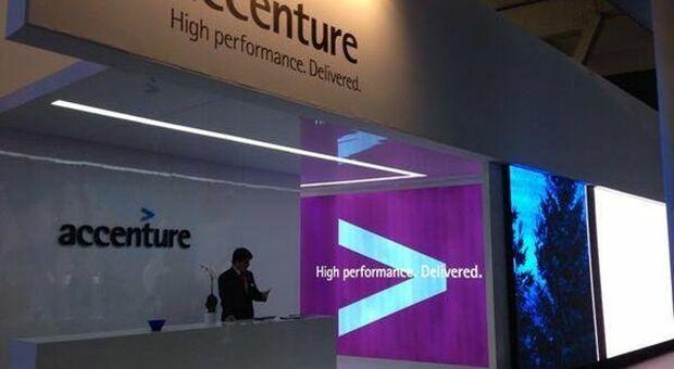 Accenture, trimestrale migliore del previsto e guidance rivista al rialzo