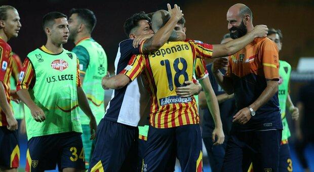 Lecce-Brescia 3-1: i salentini sperano ancora, le Rondinelle vanno in B