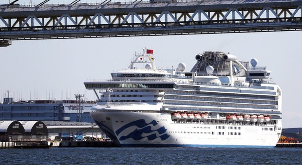 Coronavirus, l'italiana sulla nave bloccata al largo del Giappone: «Ci misuriamo la febbre ogni 4 ore»