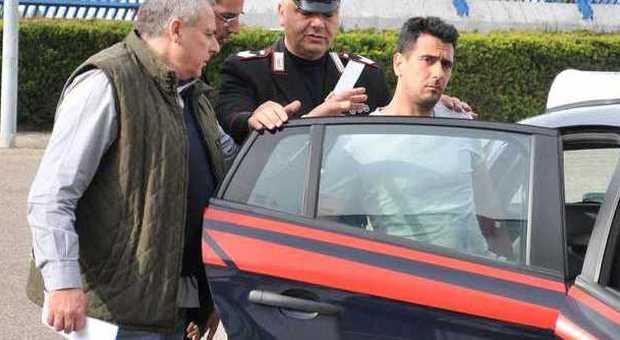 L'arrestato viene condotto in carcere
