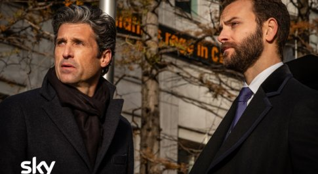 """Alessandro Borghi e Patrick Dempsey, i """"Diavoli"""" della finanza. L'attore italiano: «Non dobbiamo tornare come prima»"""
