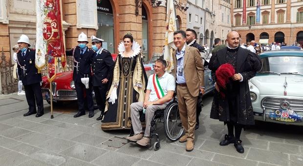 """La """"Coppa della Perugina"""" per la prima volta a Foligno. il sindaco Zuccarini: «Dopo il Giro d'Italia continua il legame con Perugia all'insegna dello sport e dei grandi eventi»"""