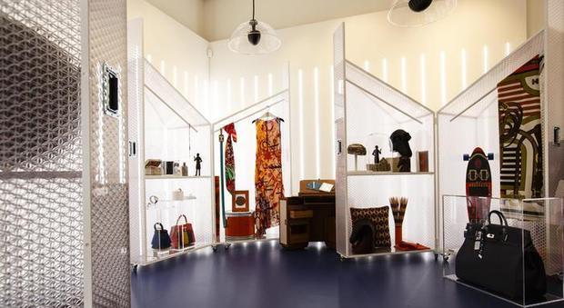 Roma, Hermès apre la nuova boutique esclusiva: il tema è la magia