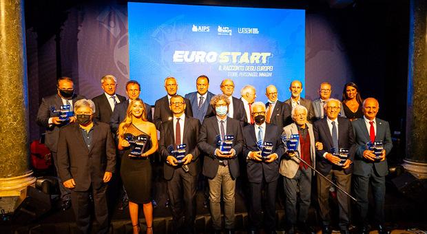 Eurostart di USSI e AIPS: serata di ricordi, emozioni e premiazioni a Roma