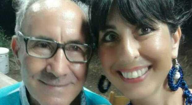Il signor Giglio Lomartire con la figlia Antonella