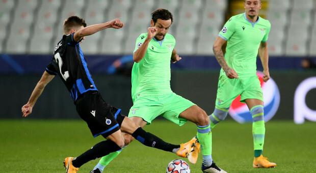 Lazio, Parolo ovunque: regista e difensore contro il Bruges