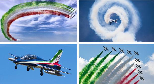 Frecce Tricolori, i 60 anni celebrati ieri e oggi a Rivolto Rivedi il maxi air-show applaudito dal presidente Mattarella