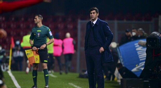 Roma, Fonseca: «Non è un passo indietro». Villar: «Tiro poco in porta, devo migliorare»