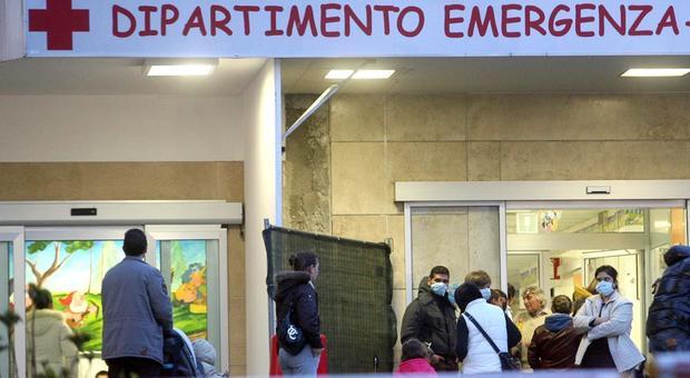Roma, picco di influenza tra i bambini: assalto ai pronto soccorso