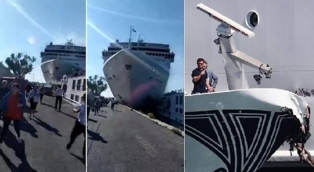 Venezia, nave da crociera si scontra con lancia turistica: feriti, passeggeri caduti in acqua, pesanti danni