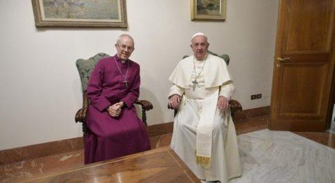La missione in Sud Sudan del Papa e dell'arcivescovo di Canterbury si avvicina, forse nel 2020