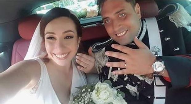 Carabiniere ucciso a Roma, la moglie disperata: «Me lo hanno ammazzato»