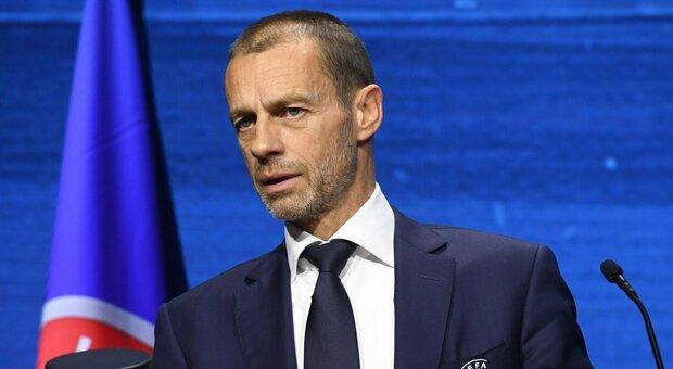 Uefa, l'esecutivo cancella la regola dei gol in trasferta. Ceferin: «La regola dissuadeva le squadre di casa dall'attaccare»