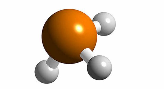 la molecola della Fosfina