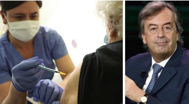 Vaccini, Burioni: «Non ci sono abbastanza dosi per due richiami sicuri e lo Stato ne fa uno nuovo: una follia»