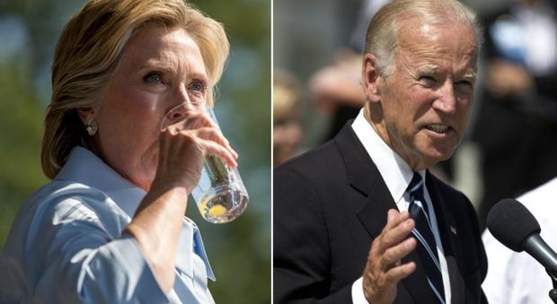 Clinton, il piano B dei democratici: Biden pronto a scendere in campo