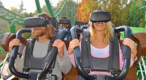 Gardaland, la realtà virtuale sale sulle montagne russe