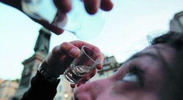 Vodka negli occhi a Campo de Fiori