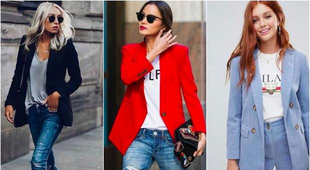 Blazer mania d autunno  ecco le 5 giacche di tendenza e come indossarle 0c734b69c54