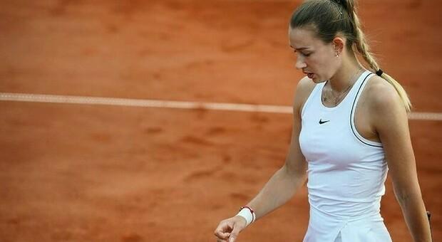 Roland Garros, arrestata la tennista russa Yana Sizikova: «Scommesse truccate» (Instagram)