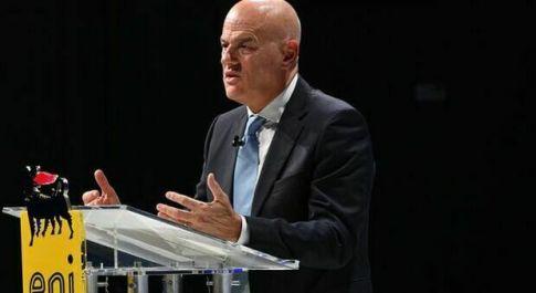 Claudio Descalzi, amministratore delegato dell'Eni