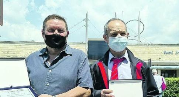 Premiati i macchinisti per il soccorso al treno deragliato a Giuncano
