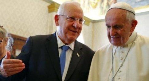 Papa Francesco giovedì incontrerà il presidente d'Israele per la seconda volta