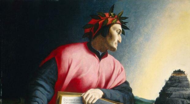 Dante Alighieri nel ritratto firmato da Agnolo Bronzino
