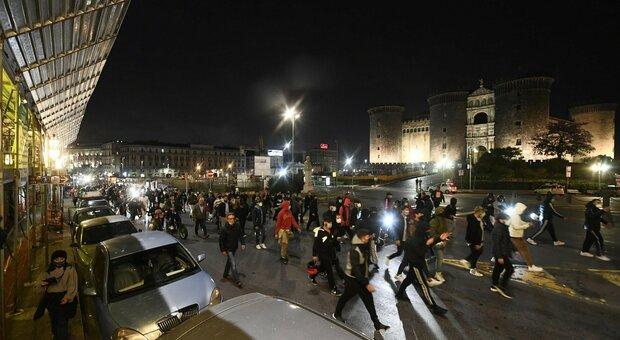 Proteste in piazza a Napoli
