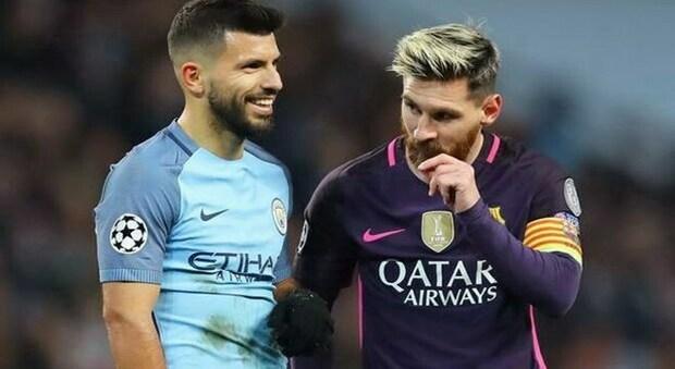 Aguero e Messi