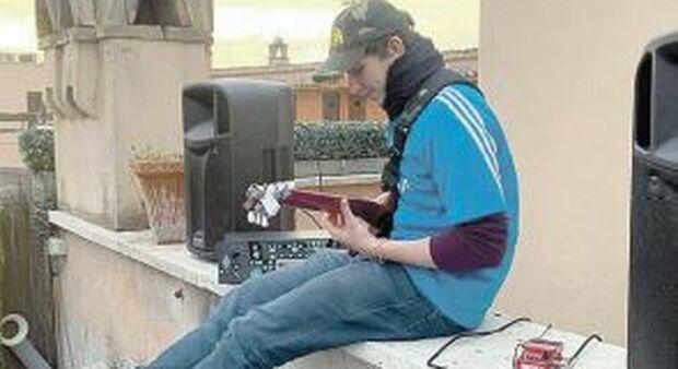 Jacopo Mastrangelo: «Sabato tornerò a suonare sul tetto però ora è diverso»