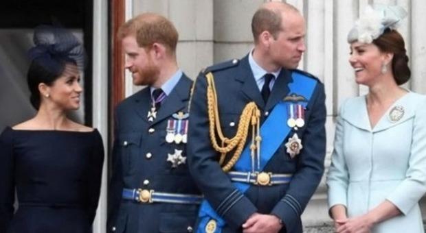 Meghan Markle e Kate Middleton, l'indiscrezione choc: «William e Harry non si sono visti per 6 mesi»