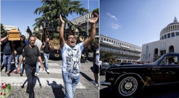 Roma, funerali-show per il boss dei Casamonica: è polemica