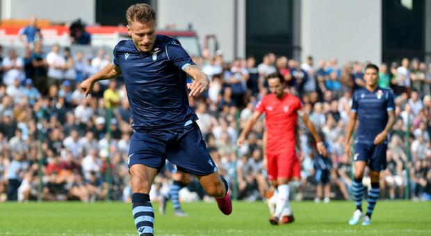 Ciro Immobile, in gol contro la Triestina (foto ROSI)